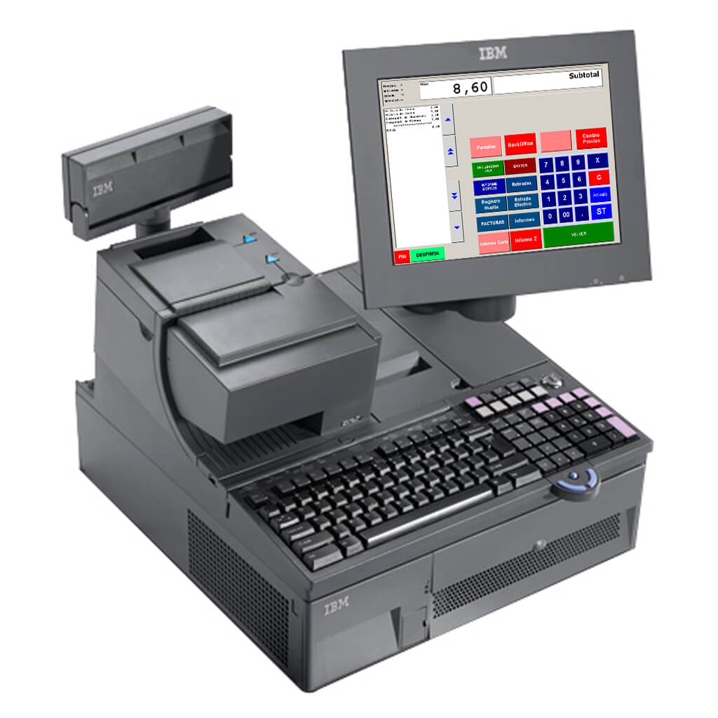 קופה רושמת ממוחשבת IBM TOSHIBA SURE POS