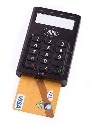 מכשיר סליקה נייד CHIP SMART CARD EMV