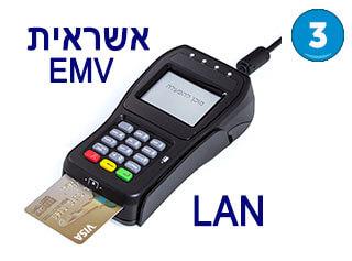 פינפד EMV LAN דגם CP320NA כולל אשראית EMV