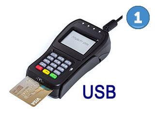 פינפד USB EMV חברת CreditPay ישראל