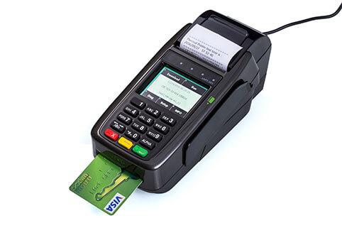 מסוף אשראי EMV CHIP CARD