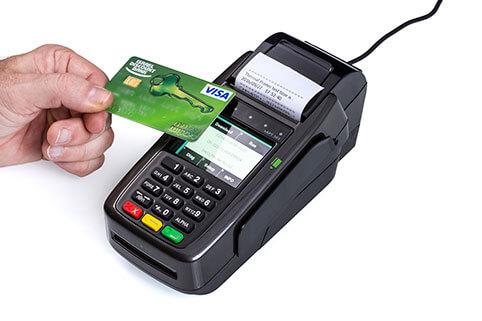 מסוף אשראי EMV CONTACTLESS