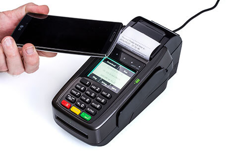מסוף אשראי EMV NFC CP520