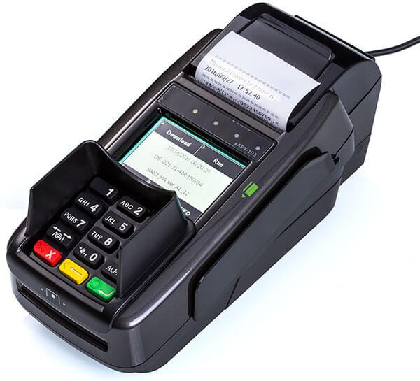 מסוף אשראי נייח EMV דגם CP520