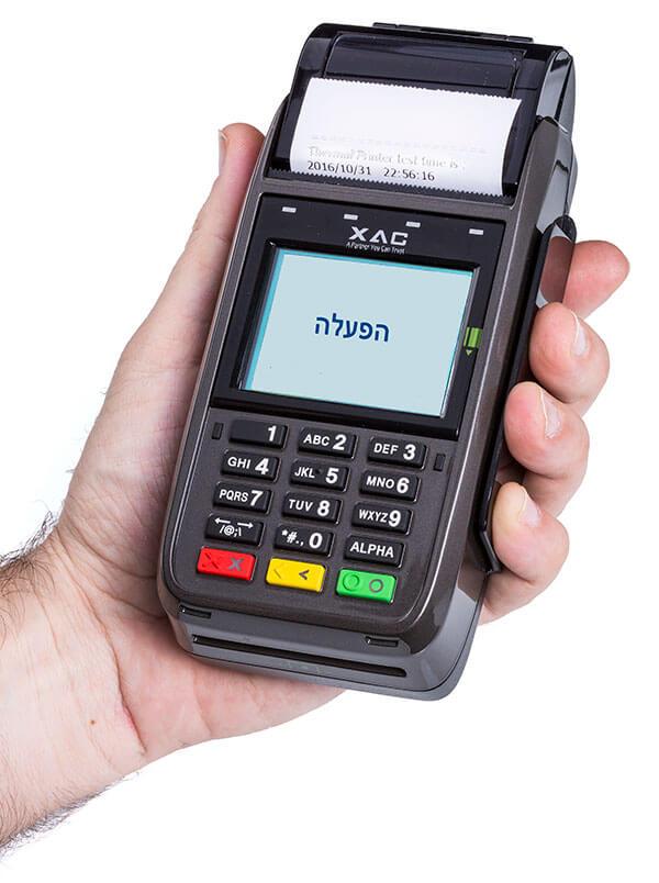 מסוף אשראי נייד EMV דגם CP525M