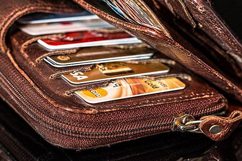 כרטיסי אשראי ארנק